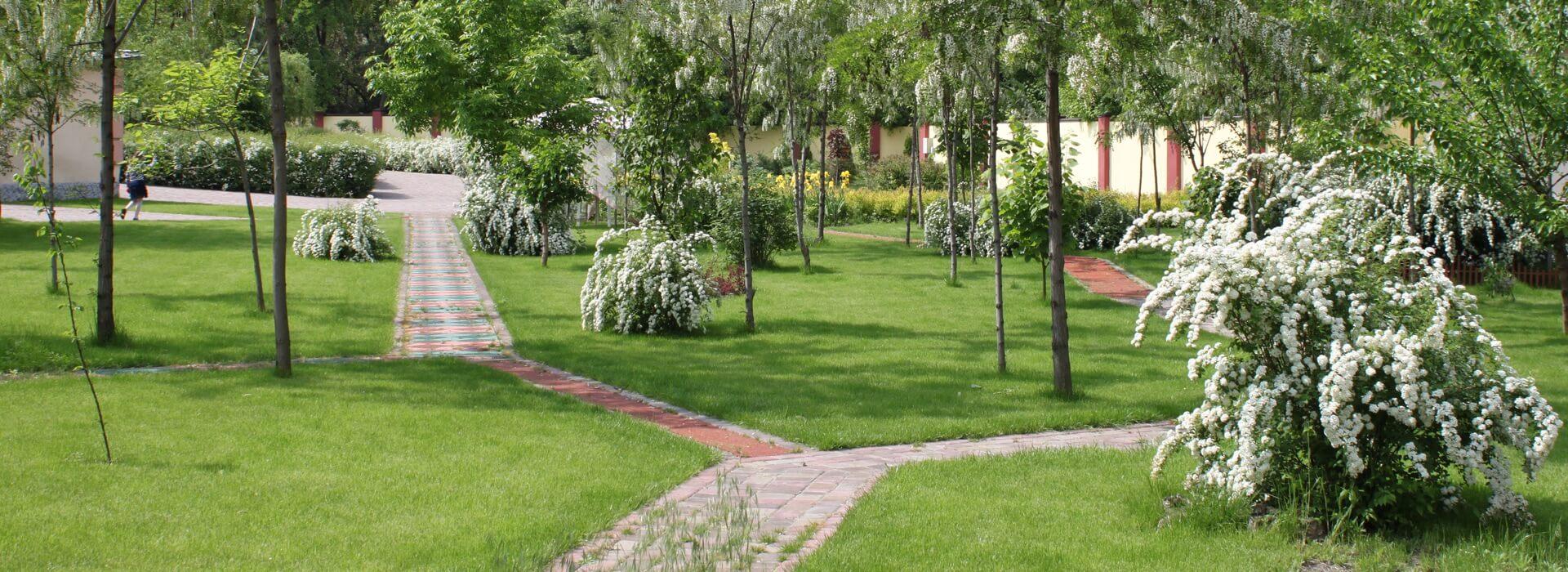 Парк при НИИ Детской и семейной психиатрии, психотерапии, психологии, медицинского и психосоциальной реабилитации