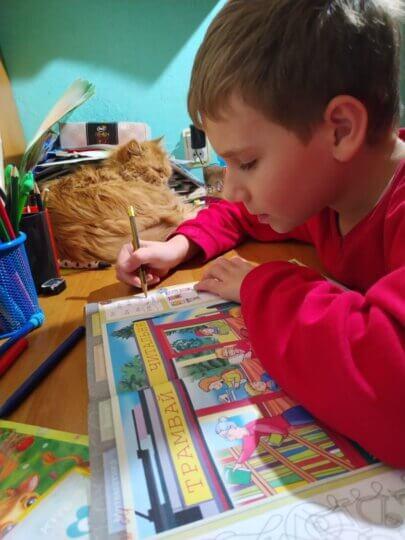 Лечение расстройство аутистического спектра (РАС), алалия (ЗПРР), гиперактивность (СДВГ). Отзывы о лечении, Кирилл 10 лет, Украина