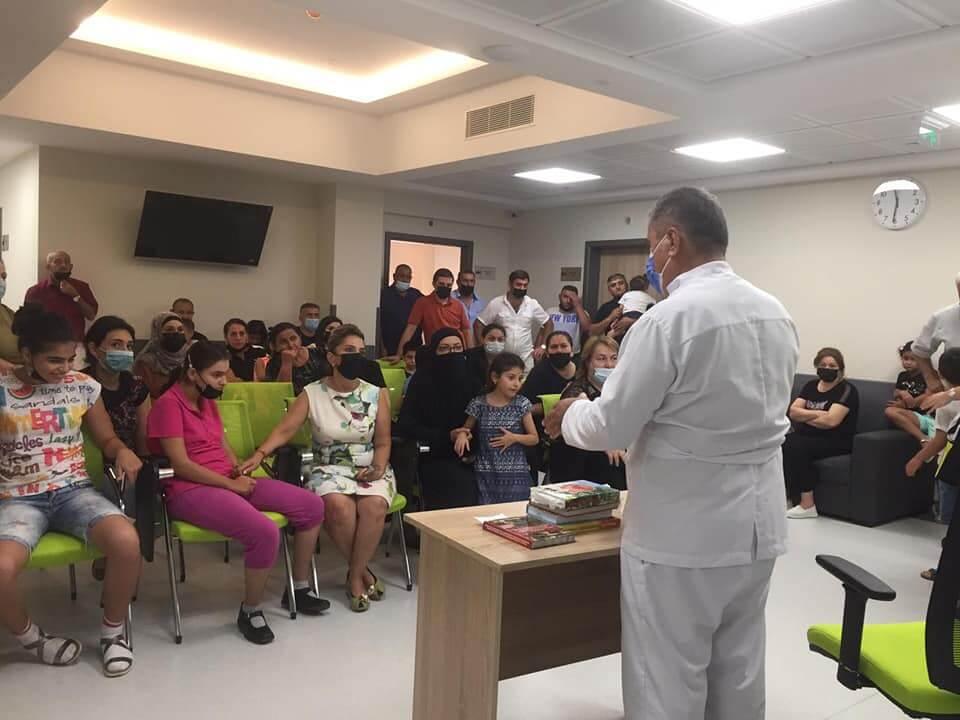 Сеанс семейной терапии. Август 2021, г. Баку, Азербайджан